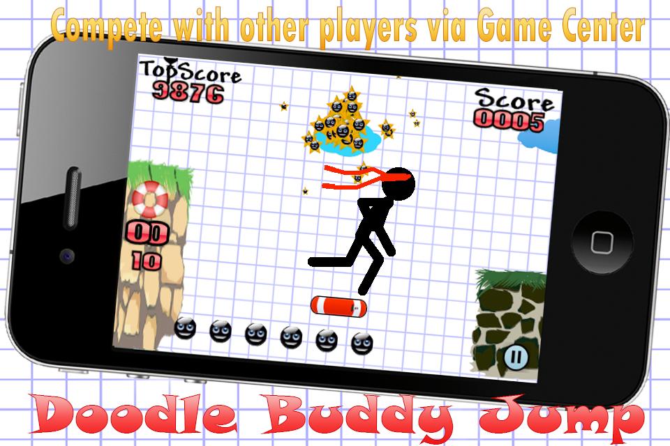 Screenshot Doodle Buddy Jump